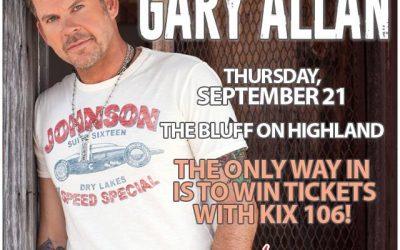 Gary Allan – September 21