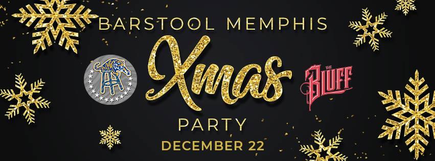 Barstool Memphis Xmas Party
