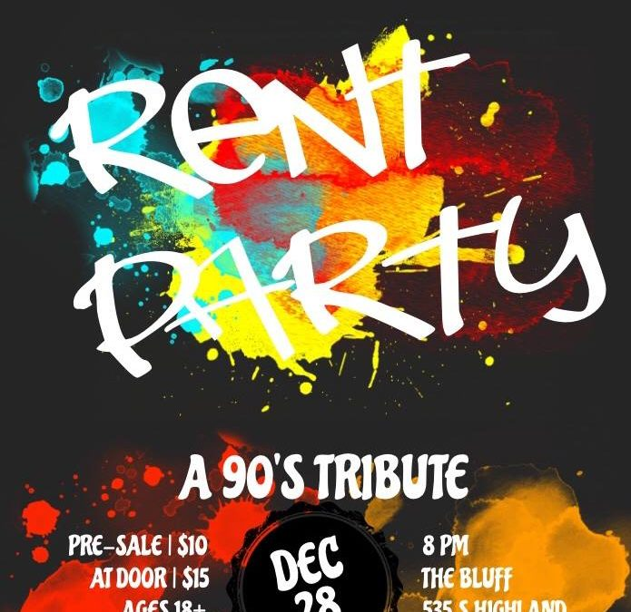 "KO & The Crew's ""Rent Party"" A 90s Tribute"